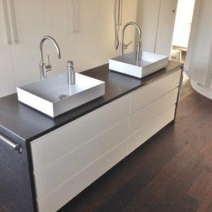 Waschtischanlage Mit Steinplatte